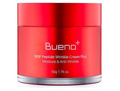 Омолаживающий крем для лица с пептидами Bueno MGF Peptide Wrinkle Cream Plus, 50г - Фото №1