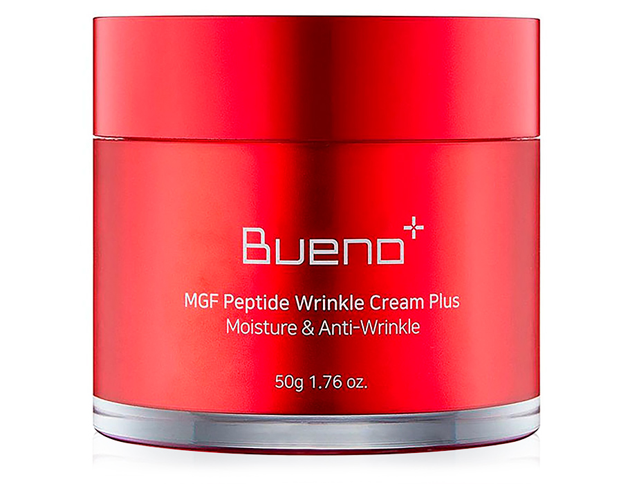 Омолаживающий крем для лица с пептидами Bueno MGF Peptide Wrinkle Cream Plus, 50г