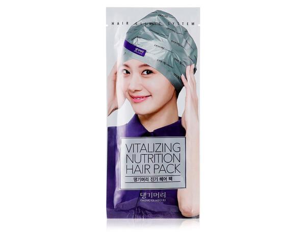 Восстанавливающая маска-шапка для волос Daeng Gi Meo Ri Vitalizing Hair Cap, 35мл - Фото №1