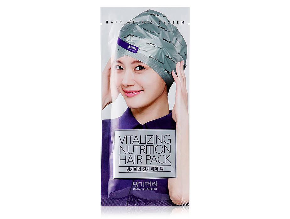 Восстанавливающая маска-шапка для волос Daeng Gi Meo Ri Vitalizing Hair Cap, 35мл
