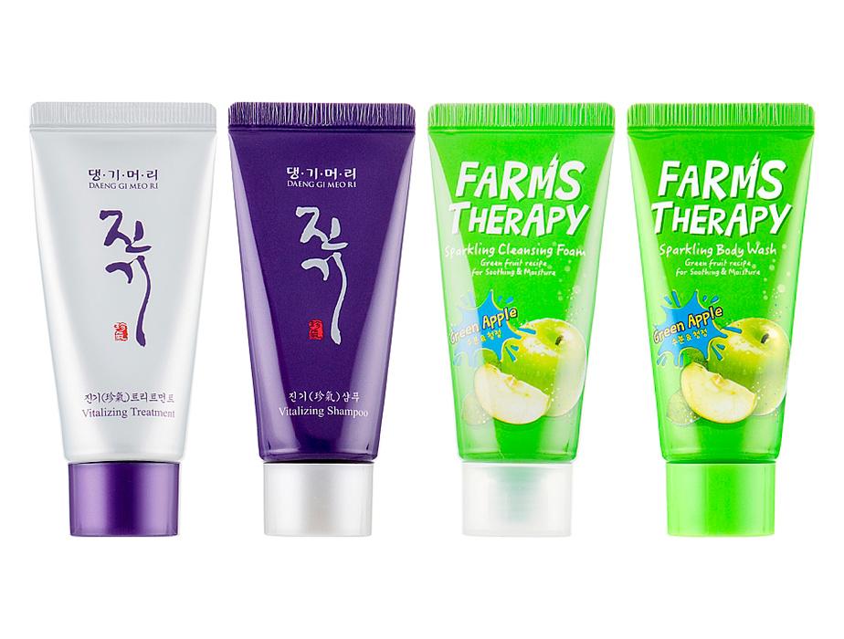 Дорожный набор средств для волос, лица и тела Daeng Gi Meo Ri Vitalizing Travel Kit - Фото №2