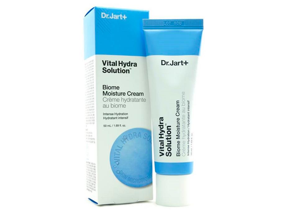 Интенсивно увлажняющий крем для лица Dr. Jart+ Vital Hydra Solution Biome Moisture Cream, 50мл - Фото №2