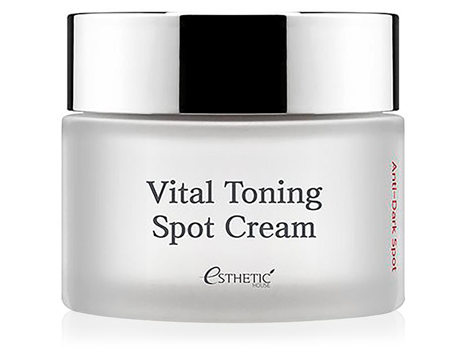 Осветляющий тонизирующий крем для лица Esthetic House Vital Toning Spot Cream Anti-Dark Spot, 50мл