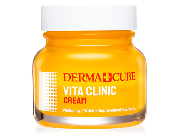 Осветляющий крем для лица FarmStay Derma Cube Vita Clinic Cream, 60мл - Фото №1