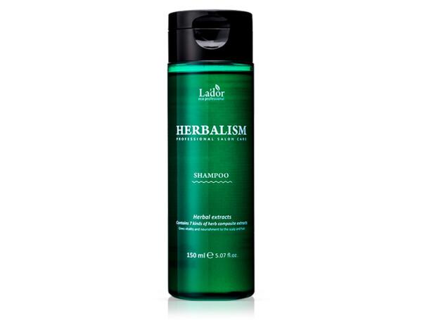 Успокаивающий травяной шампунь с аминокислотами Lador Herbalism Shampoo, 150мл - Фото №1