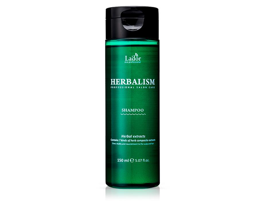 Успокаивающий травяной шампунь с аминокислотами Lador Herbalism Shampoo, 150мл