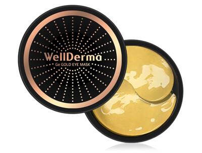 Омолаживающие патчи под глаза с германием и золотом WellDerma Ge Gold Eye Mask, 60шт - Фото №1