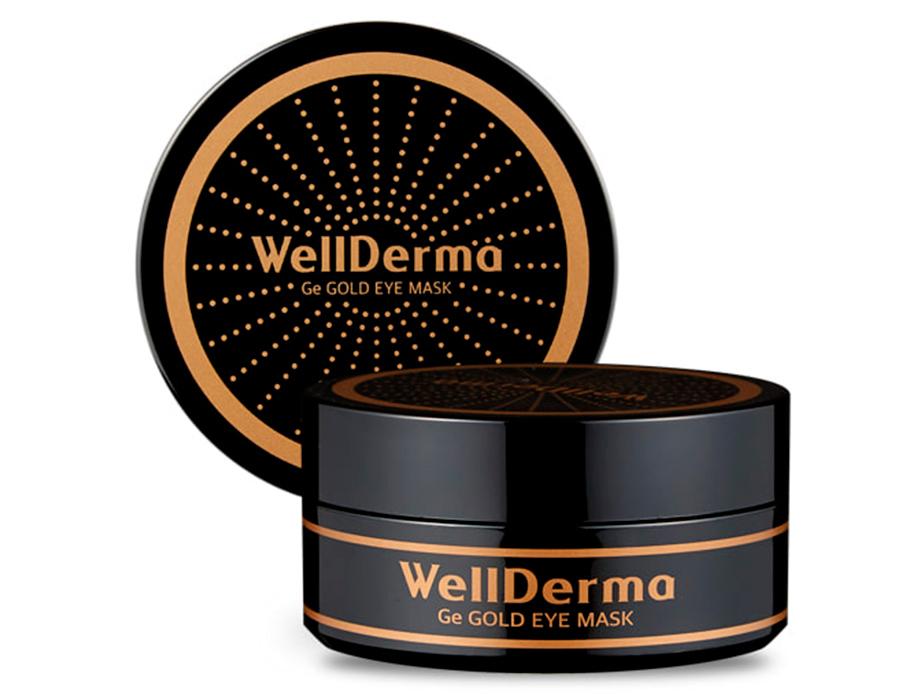 Омолаживающие патчи под глаза с германием и золотом WellDerma Ge Gold Eye Mask, 60шт - Фото №2