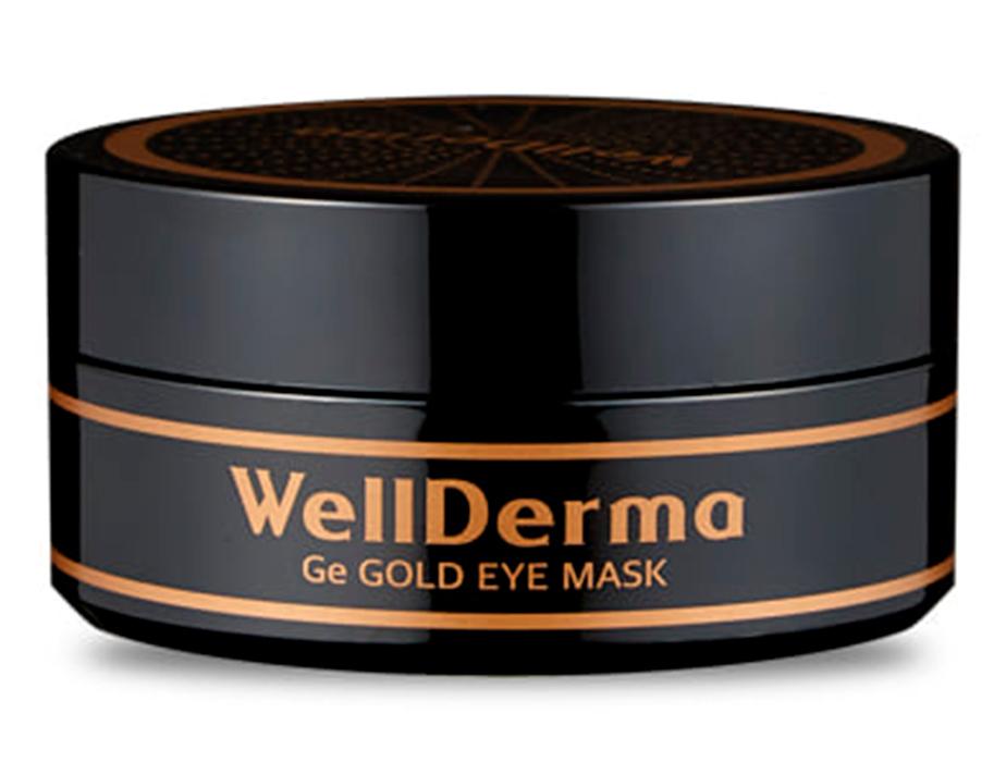 Омолаживающие патчи под глаза с германием и золотом WellDerma Ge Gold Eye Mask, 60шт - Фото №3