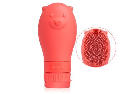 Осветляющая пенка для очищения лица с силиконовой щеткой WellDerma Gomdochi Foam Cleanser Brightening, 60мл - Фото №1
