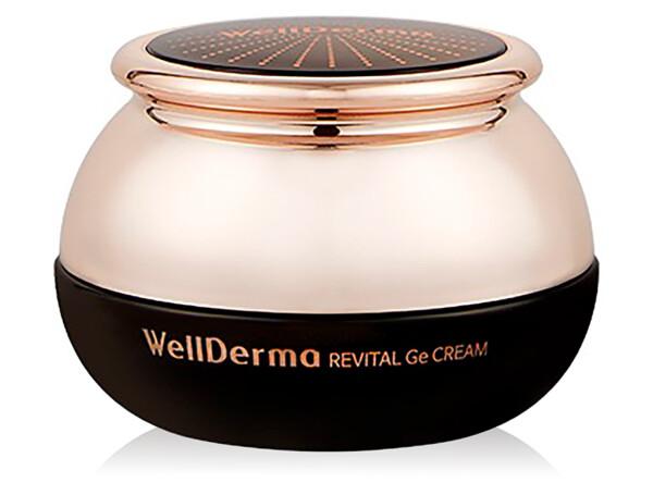Антивозрастной спа-крем для лица с германием WellDerma Revital Ge Cream, 50мл - Фото №1