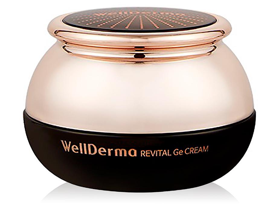 Антивозрастной спа-крем для лица с германием WellDerma Revital Ge Cream, 50мл