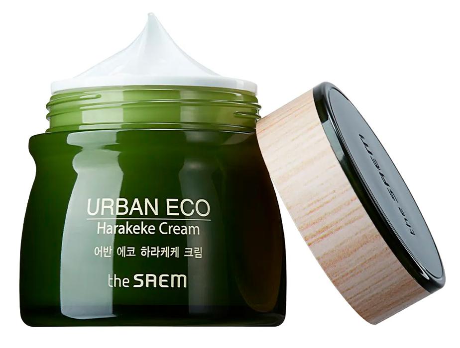 Питательный крем для лица The Saem Urban Eco Harakeke Cream, 60мл - Фото №2