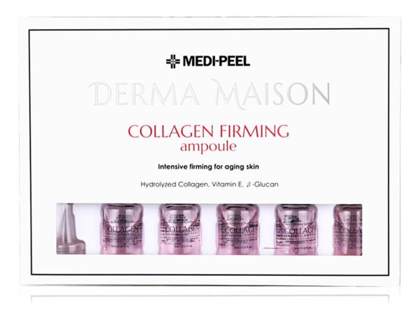 Концентрированные ампулы с коллагеном Medi-Peel Derma Maison Collagen Firming Ampoule, 10шт по 5мл - Фото №1