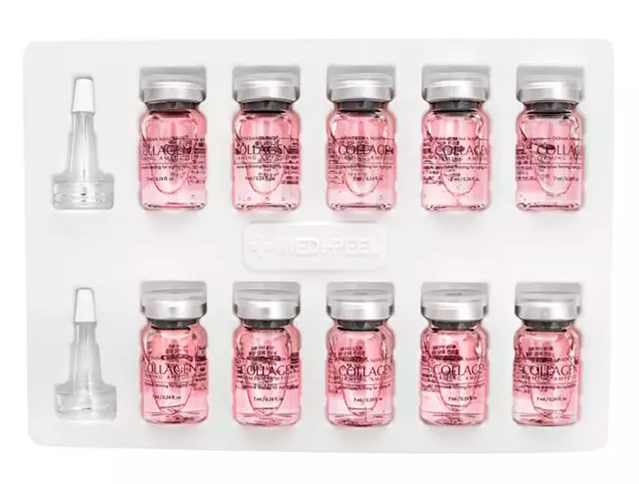 Концентрированные ампулы с коллагеном Medi-Peel Derma Maison Collagen Firming Ampoule, 10шт по 5мл - Фото №4