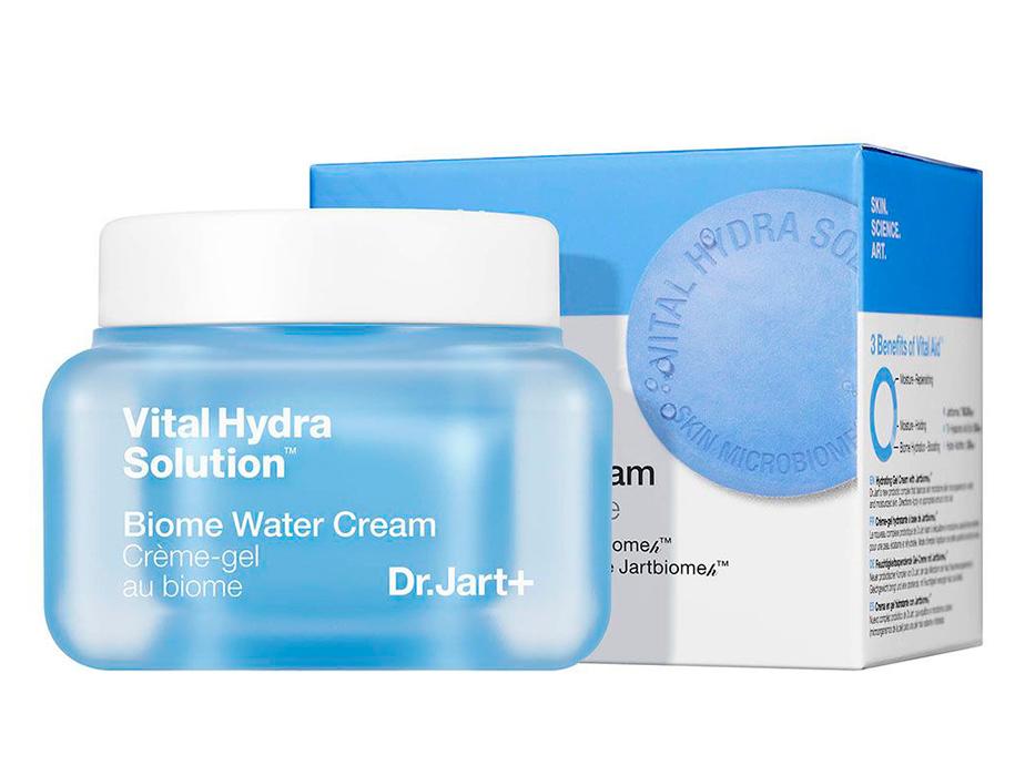 Легкий увлажняющий крем для лица с биомом и пребиотиками Dr. Jart+ Vital Hydra Solution Biome Water Cream, 50мл - Фото №2