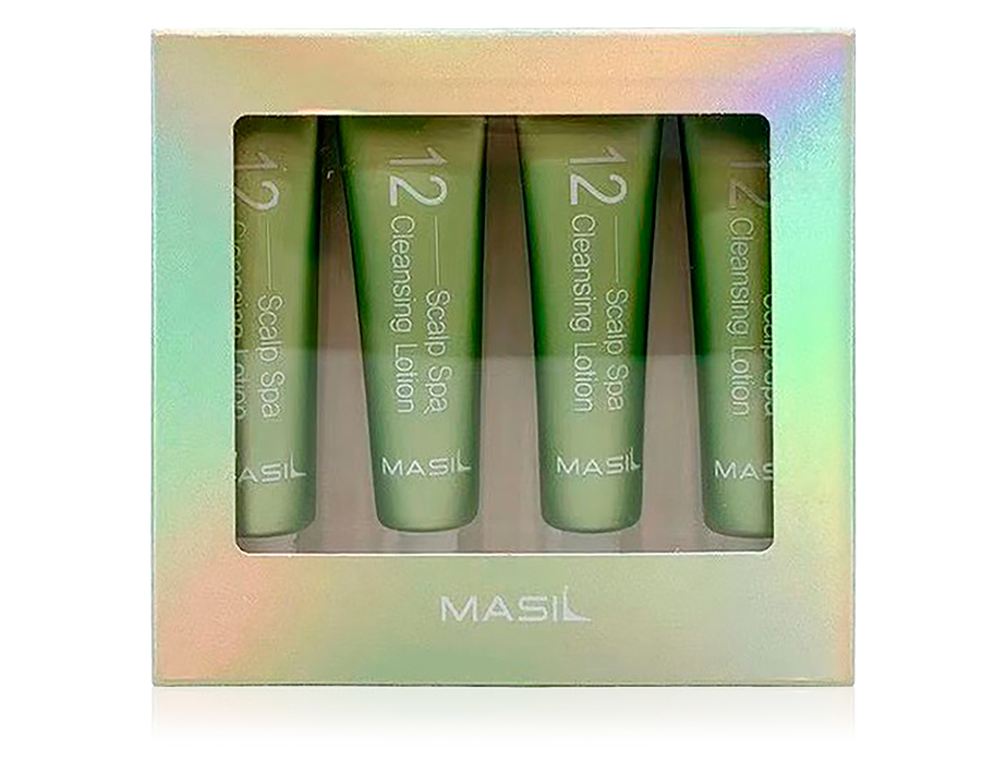 Очищающий лосьон для кожи головы Masil 12 Scalp Spa Cleansing Lotion, 4шт по 15мл - Фото №1
