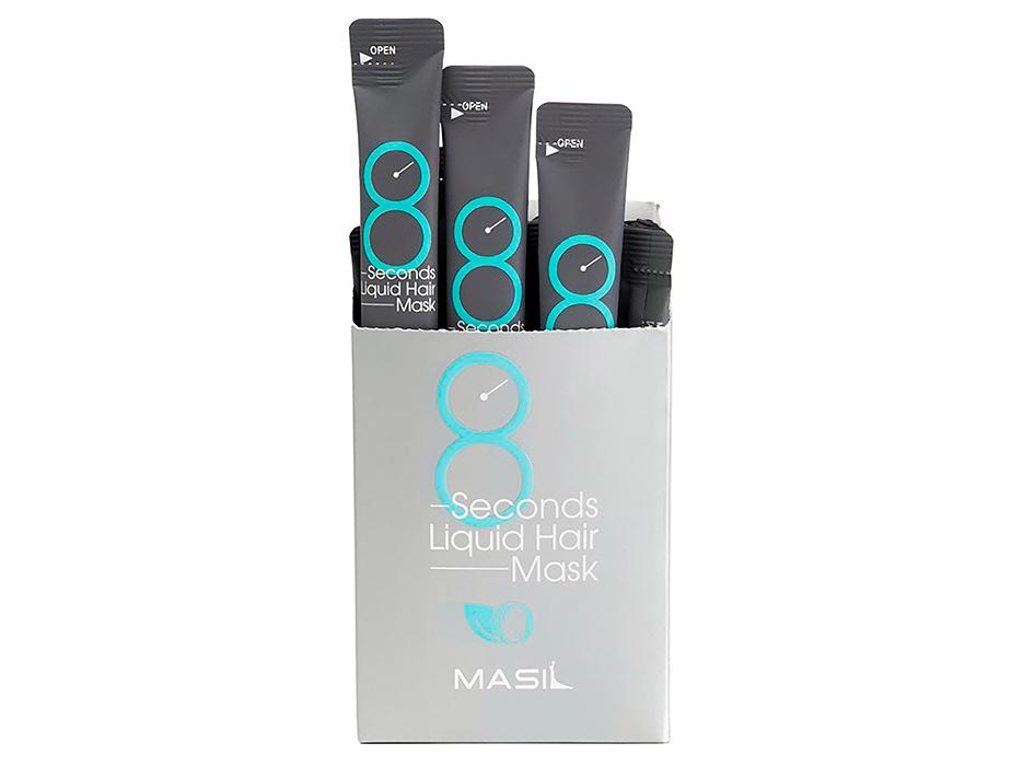 Маска для восстановления и объема волос Masil 8 Seconds Liquid Hair Mask, 20шт по 8мл - Фото №2