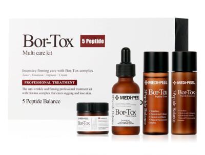 Лифтинг-набор средств для лица с эффектом ботокса Medi-Peel Bor-Tox 5 Peptide Multi Care Kit - Фото №1