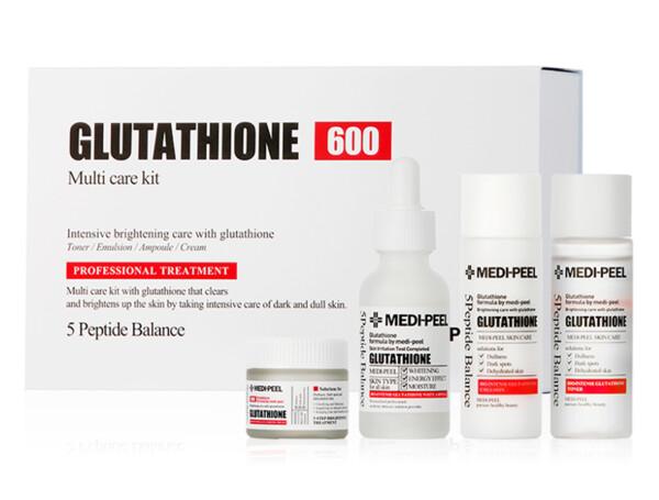 Набор осветляющих средств для лица с глутатионом Medi-Peel Glutathione 600 Multi Care Kit - Фото №1