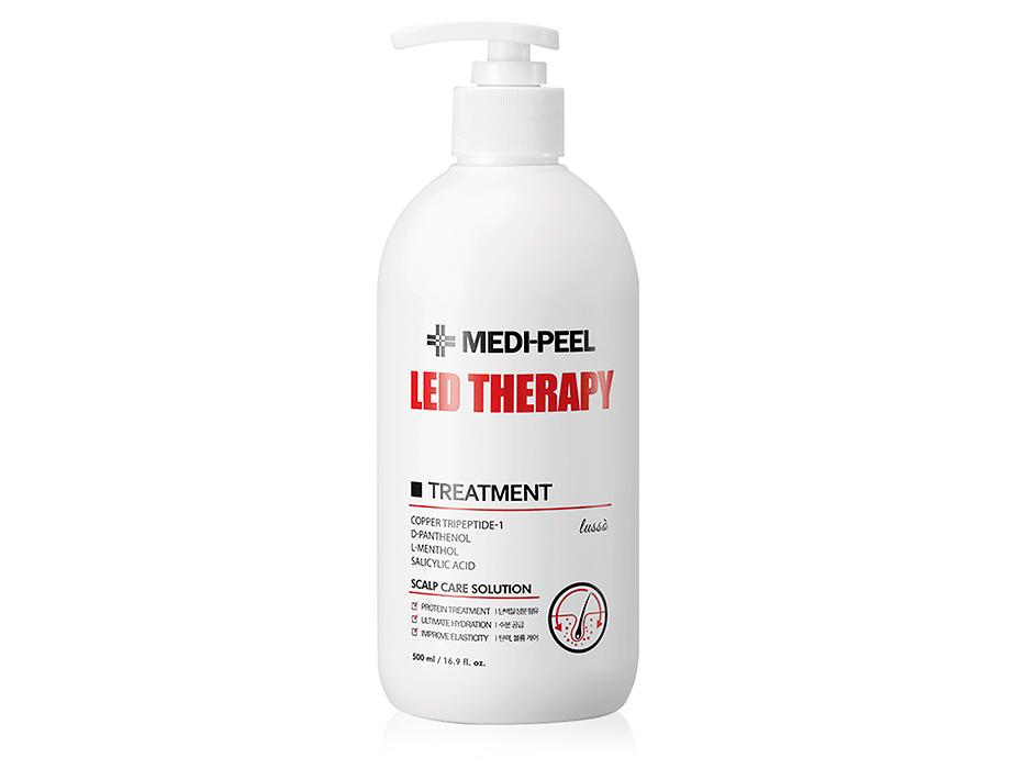 Восстанавливающая маска для волос с пептидами Medi-Peel Led Therapy Treatment, 500мл