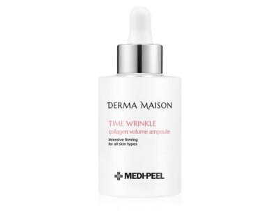 Антивозрастная сыворотка для лица с коллагеном Medi-Peel Derma Maison Time Wrinkle Collagen Volume Ampoule, 100мл - Фото №1