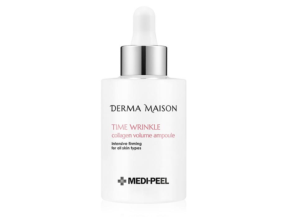 Антивозрастная сыворотка для лица с коллагеном Medi-Peel Derma Maison Time Wrinkle Collagen Volume Ampoule, 100мл