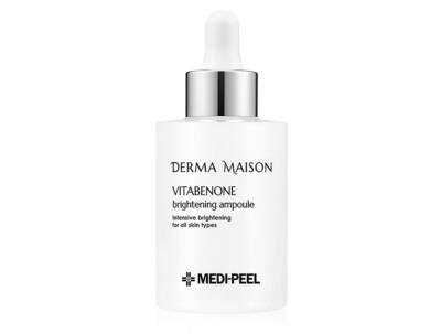 Осветляющая ампульная сыворотка для лица Medi-Peel Derma Maison Vitabenone Brightening Ampoule, 100мл - Фото №1