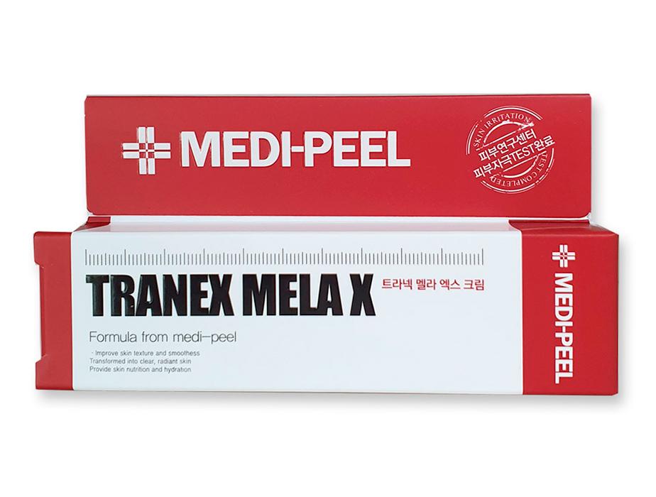 Осветляющий крем для лица против пигментации Medi-Peel Tranex Mela X Cream, 30мл - Фото №3