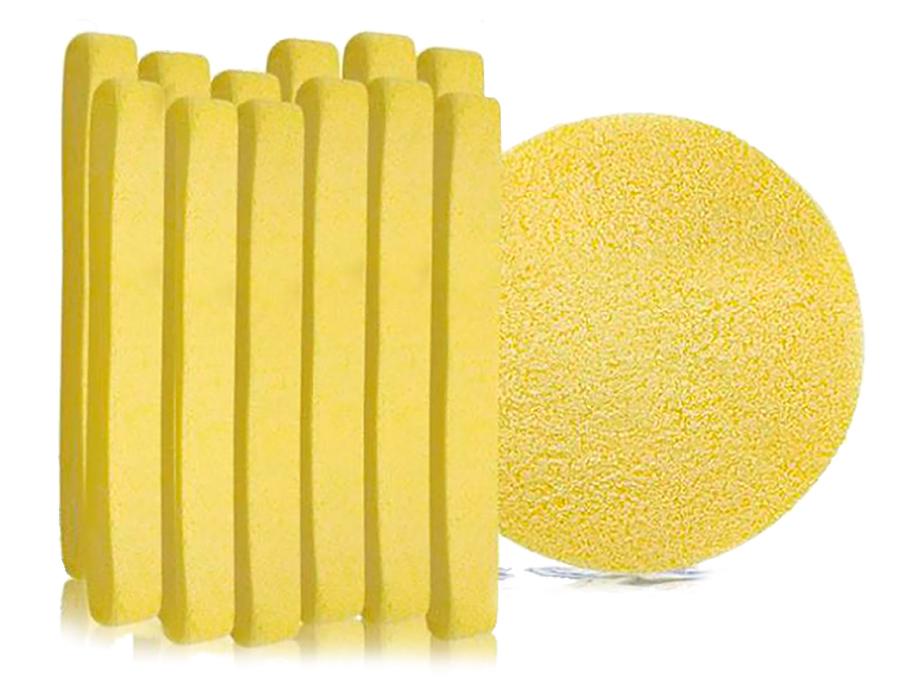 Косметический спонж для умывания TianDe Cleansing Sponge, 12шт - Фото №1