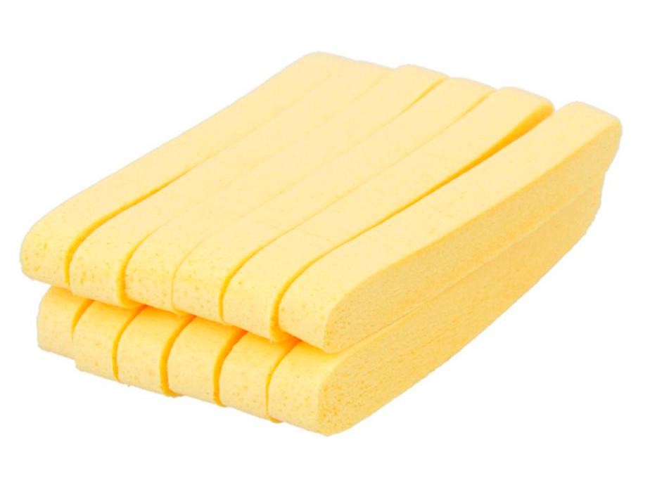 Косметический спонж для умывания TianDe Cleansing Sponge, 12шт - Фото №2