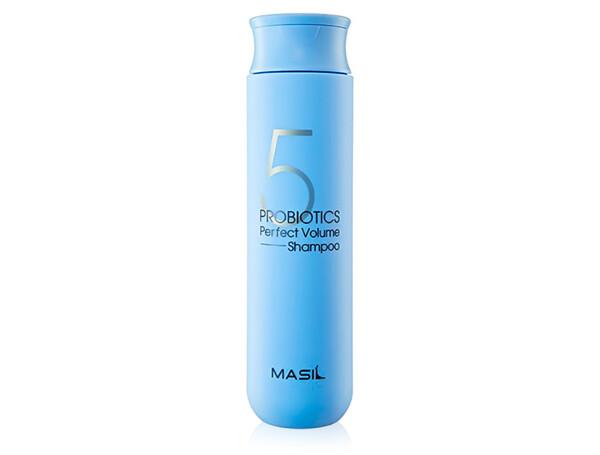 Шампунь для объема волос с пробиотиками Masil 5 Probiotics Perfect Volume Shampoo, 300мл - Фото №1