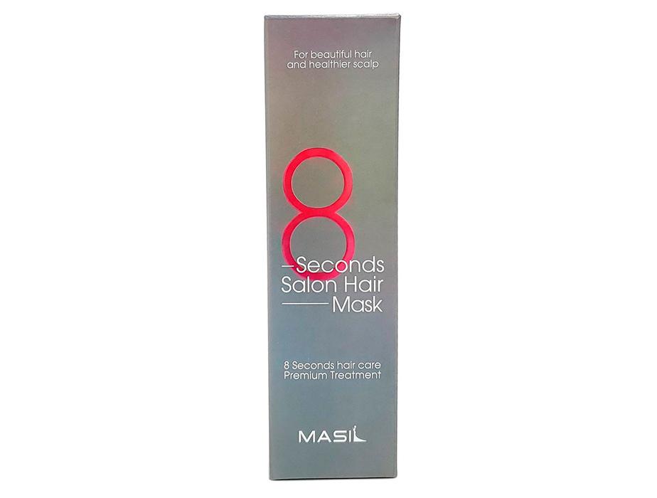 Восстанавливающая питательная маска для волос Masil 8 Seconds Salon Hair Mask, 200мл - Фото №3
