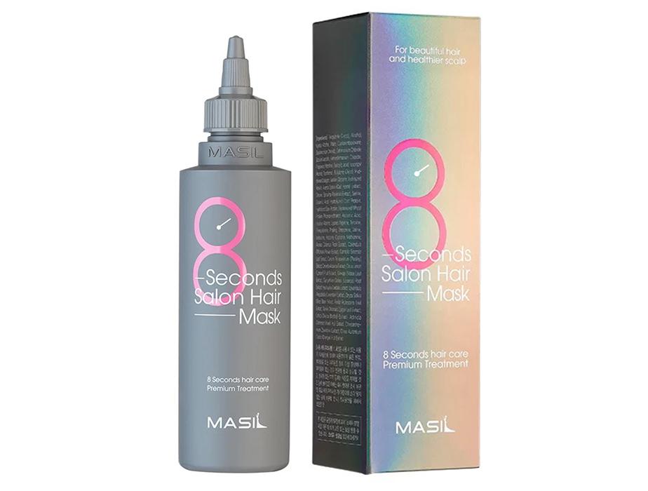 Восстанавливающая питательная маска для волос Masil 8 Seconds Salon Hair Mask, 350мл - Фото №2