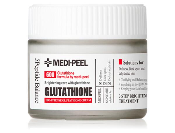 Осветляющий крем для лица с глутатионом Medi-Peel Bio Intense Glutathione White Cream, 50мл - Фото №1