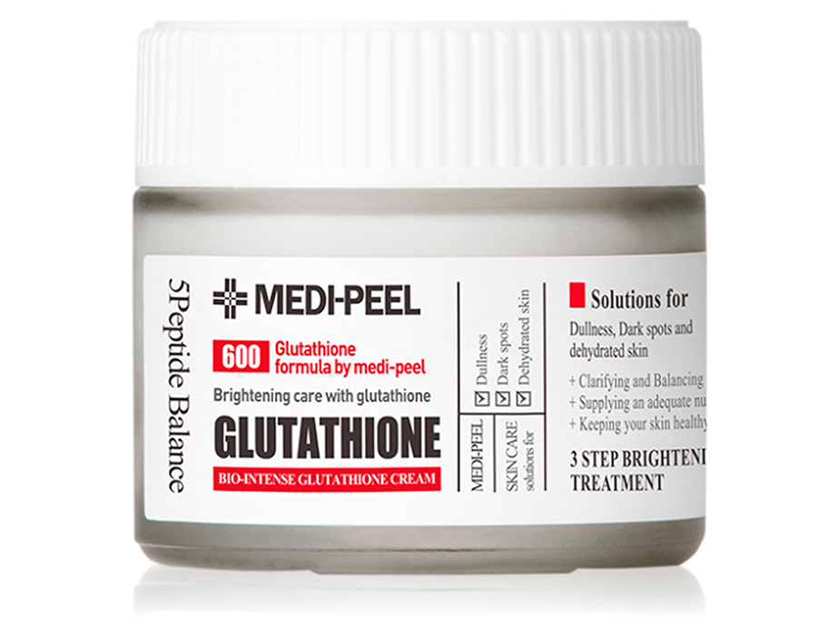 Осветляющий крем для лица с глутатионом Medi-Peel Bio Intense Glutathione White Cream, 50мл