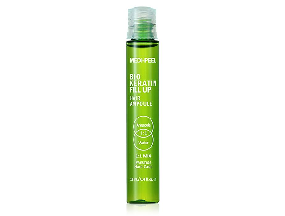 Укрепляющие филлеры для волос Medi-Peel Bio Keratin Fill Up Hair Ampoule, 10шт по 13мл - Фото №2