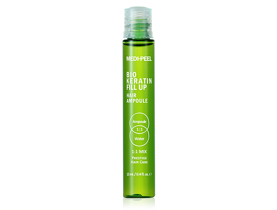 Укрепляющий филлер для волос Medi-Peel Bio Keratin Fill Up Hair Ampoule, 13мл