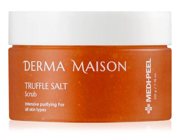 Гоммаж для лица с трюфельной солью Medi-Peel Derma Maison Truffle Salt Scrub, 220мл - Фото №1