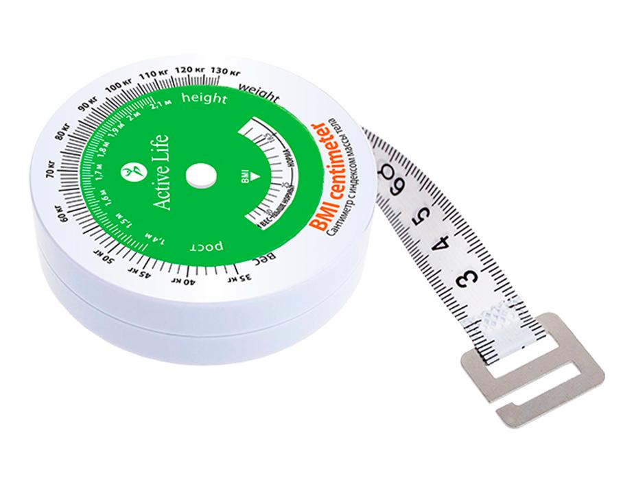 Сантиметр с индексом массы тела TianDe Active Life Centimeter With Body Mass Index