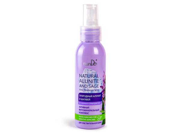 Дезодорант-спрей для тела «Природный алунит и шалфей» TianDe Natural Alunite And Sage Body Deodorant Spray, 100мл - Фото №1