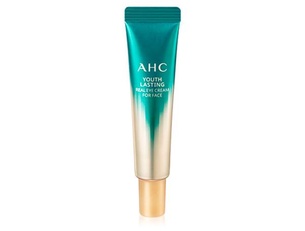 Омолаживающий крем для век и лица с 9 видами коллагена AHC Youth Lasting Real Eye Cream For Face, 12мл - Фото №1