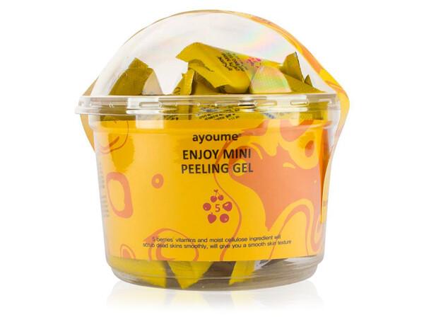 Пилинг-гель для лица с фруктовыми кислотами Ayoume Enjoy Mini Peeling Gel, 30шт по 3г - Фото №1