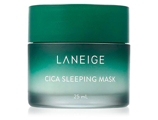 Ночная восстанавливающая маска для лица с центеллой Laneige Cica Sleeping Mask, 25мл - Фото №1