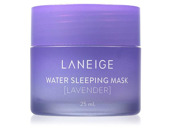 Увлажняющая ночная маска для лица с лавандой Laneige Water Sleeping Mask Lavender, 25мл - Фото №1