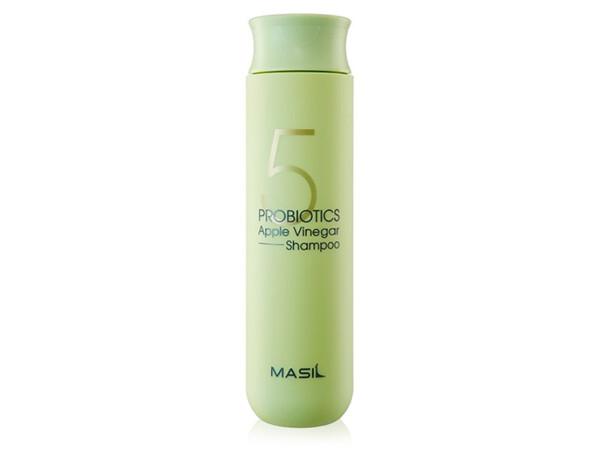 Шампунь для волос от перхоти с яблочным уксусом Masil 5 Probiotics Apple Vinegar Shampoo, 300мл - Фото №1