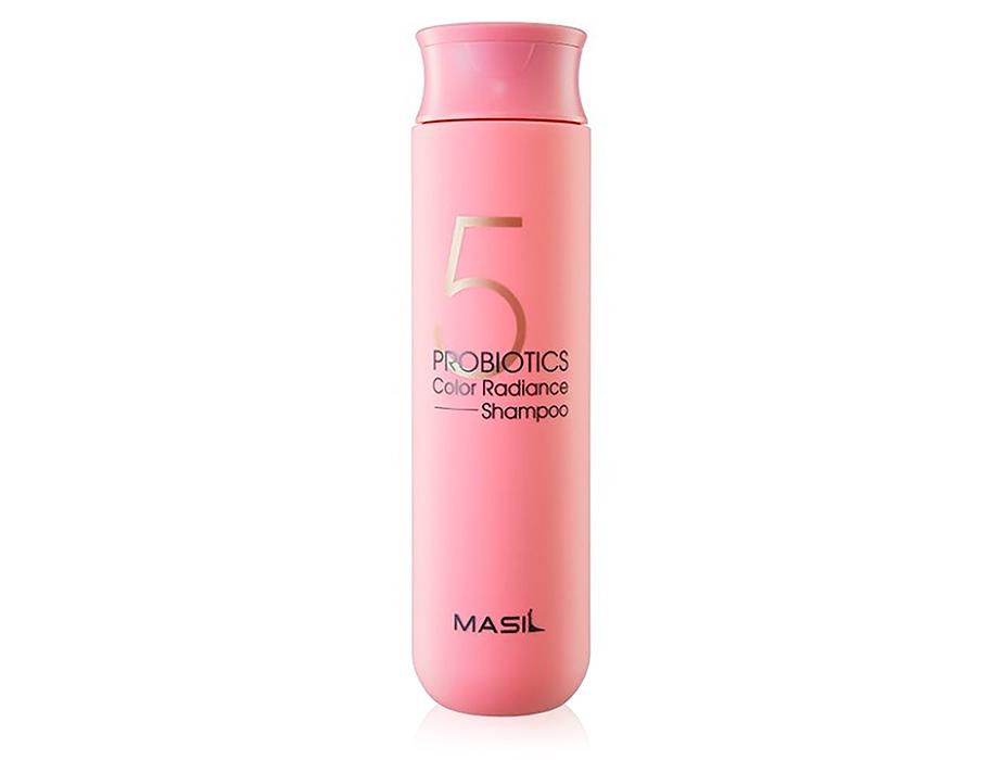 Шампунь для волос с пробиотиками для защиты цвета Masil 5 Probiotics Color Radiance Shampoo, 300мл - Фото №1