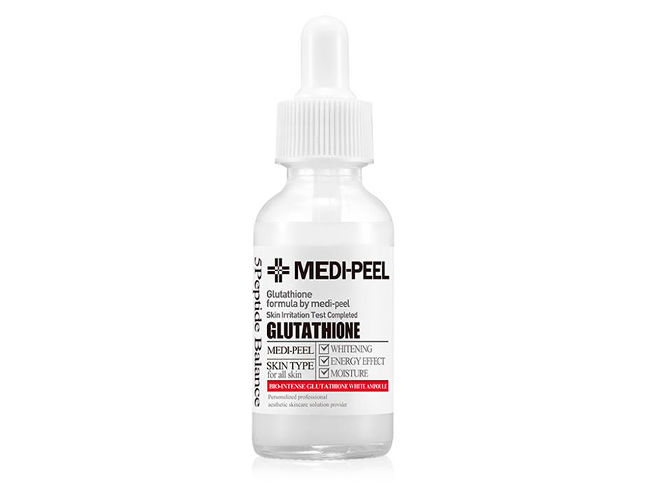 Осветляющая ампульная сыворотка для лица с глутатионом Medi-Peel Bio Intense Glutathione White Ampoule, 30мл