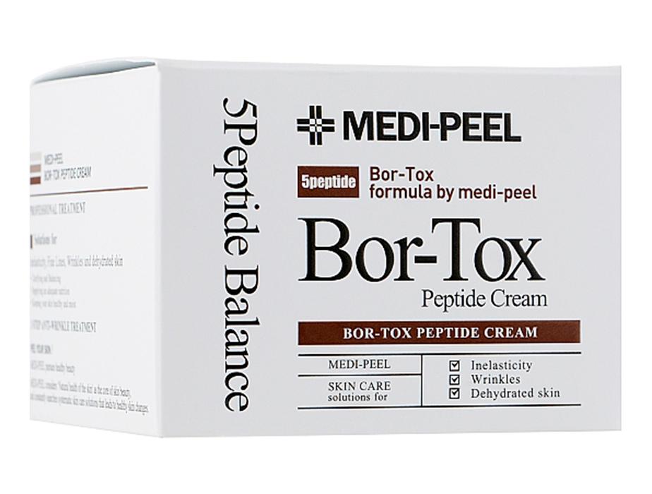 Лифтинг-крем с пептидным комплексом Medi-Peel Bor-Tox Peptide Cream, 50г - Фото №3