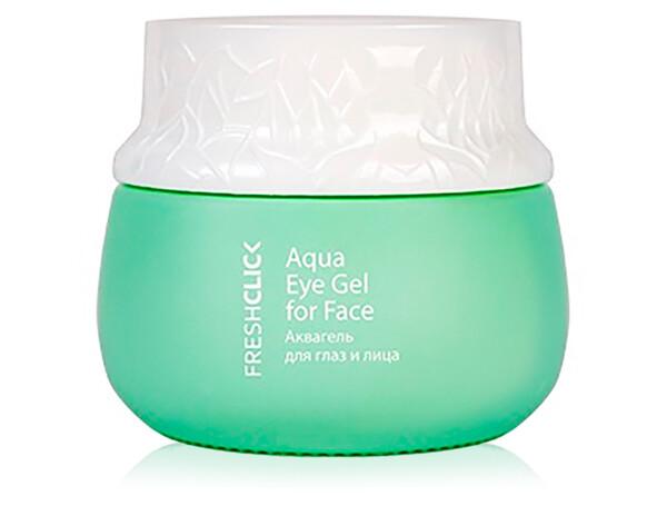 Аквагель для глаз и лица TianDe Fresh Click Aqua Eye Gel For Face, 65г - Фото №1